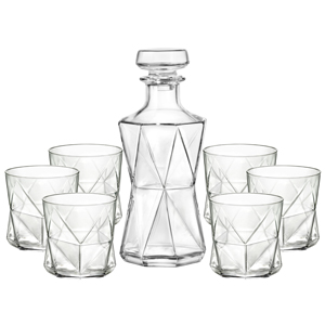Cassiopea Decanter & Tumbler Set
