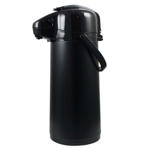 Elia Lever-Type Vacuum Beverage Dispenser Black with Hanging Tags 1.9ltr