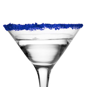Blue Cocktail Rimming Sugar 16oz / 453g