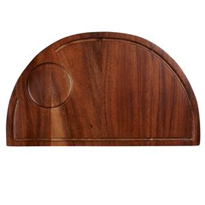 Art de Cuisine Semi-Circle Wooden Deli Board 36cm