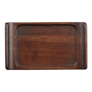 Churchill Alchemy Rectangular Wooden Tray 6.7inch / 17cm