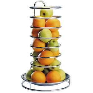 Chrome Plated Fruit Buffet Stand