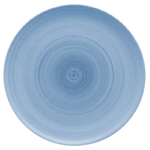 Modern Rustic Coupe Plate Blue 28cm