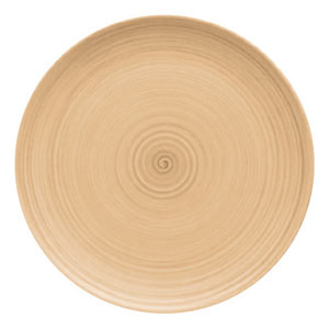 Modern Rustic Coupe Plate Sand 20cm