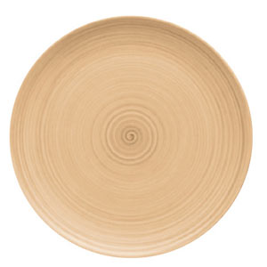 Modern Rustic Coupe Plate Sand 26cm