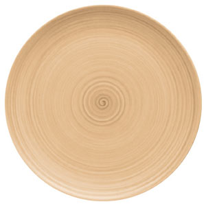 Modern Rustic Coupe Plate Sand 32cm