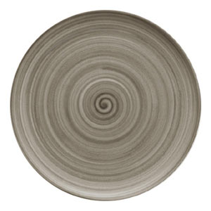 Modern Rustic Coupe Plate Wood 26cm