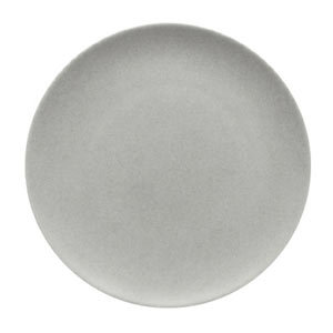 Modern Rustic Coupe Plate Stone 15cm