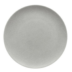 Modern Rustic Coupe Plate Stone 26cm