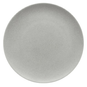 Modern Rustic Coupe Plate Stone 28cm