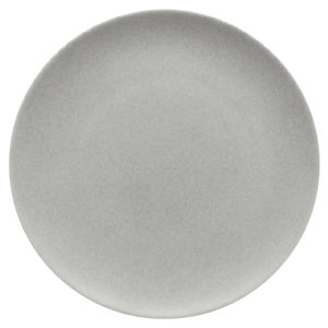 Modern Rustic Coupe Plate Stone 32cm