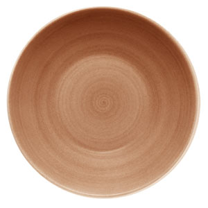 Modern Rustic Deep Coupe Plate Sand 30cm