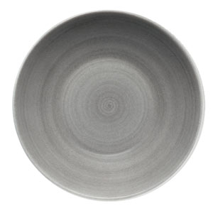 Modern Rustic Deep Coupe Plate Grey 24cm