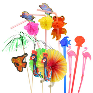 Animals Cocktail Decoration Party Set