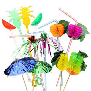 Fruity Cocktail Decoration Party Set