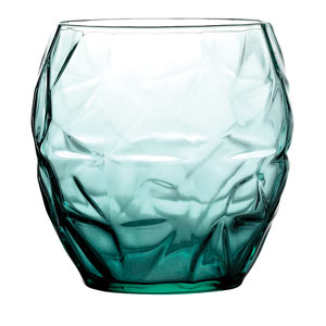 Prezioso Water Glasses Green 14oz / 400ml