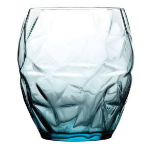 Prezioso Double Old Fashioned Tumblers Blue 17.5oz / 500ml