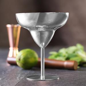 Stainless Steel Margarita Glasses 10.5oz / 300ml