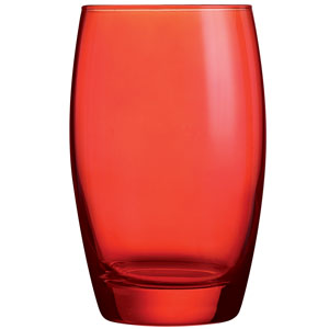 Salto Colour Studio Red Hiball Tumblers 12.3oz / 350ml