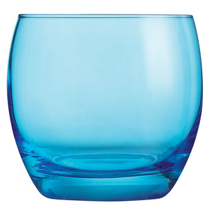 Salto Colour Studio Blue Old Fashioned Tumblers 11.3oz / 320ml