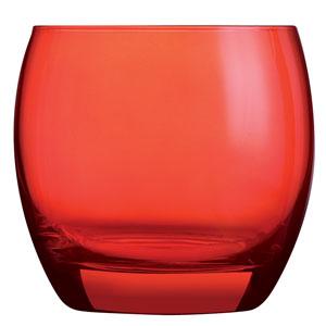 Salto Colour Studio Red Old Fashioned Tumblers 11.3oz / 320ml