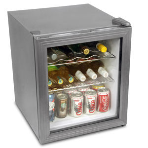 Frostbite Wine Fridge 49ltr Silver