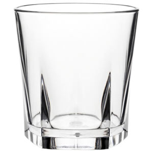 Utopia Pentagon Old Fashioned Tumblers 9oz / 260ml