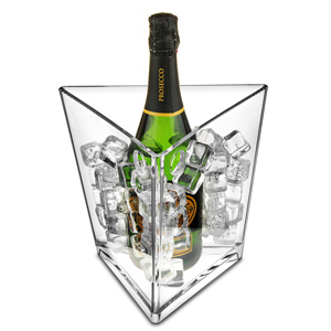 Prism Wine & Champagne Bucket Clear