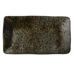 Rustico Ironstone Rectangular Plates 27.5 x 15.5cm