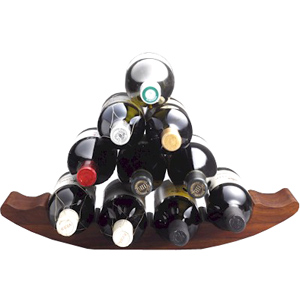 Define Sheesham Wood Wine Rack