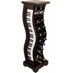 Piano Wine Rack