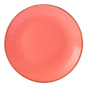 Seasons Coral Coupe Plate 24cm