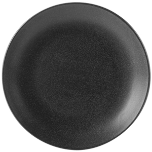 Seasons Graphite Coupe Plate 24cm