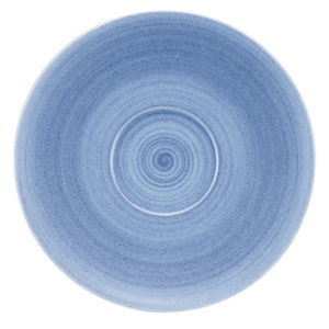 Modern Rustic Coupe Saucer Blue 15cm
