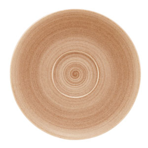 Modern Rustic Coupe Saucers Sand 15cm