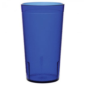 Stackable Plastic Tumblers Royal Blue 14oz / 400ml