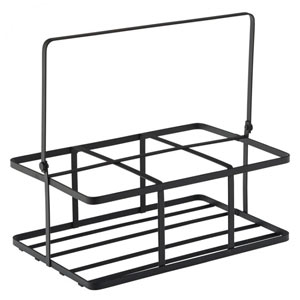 Black Metal Crate 16 x 11cm