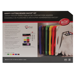 Grippy Colour Coded Cutting Board Kit 457mm x 609mm
