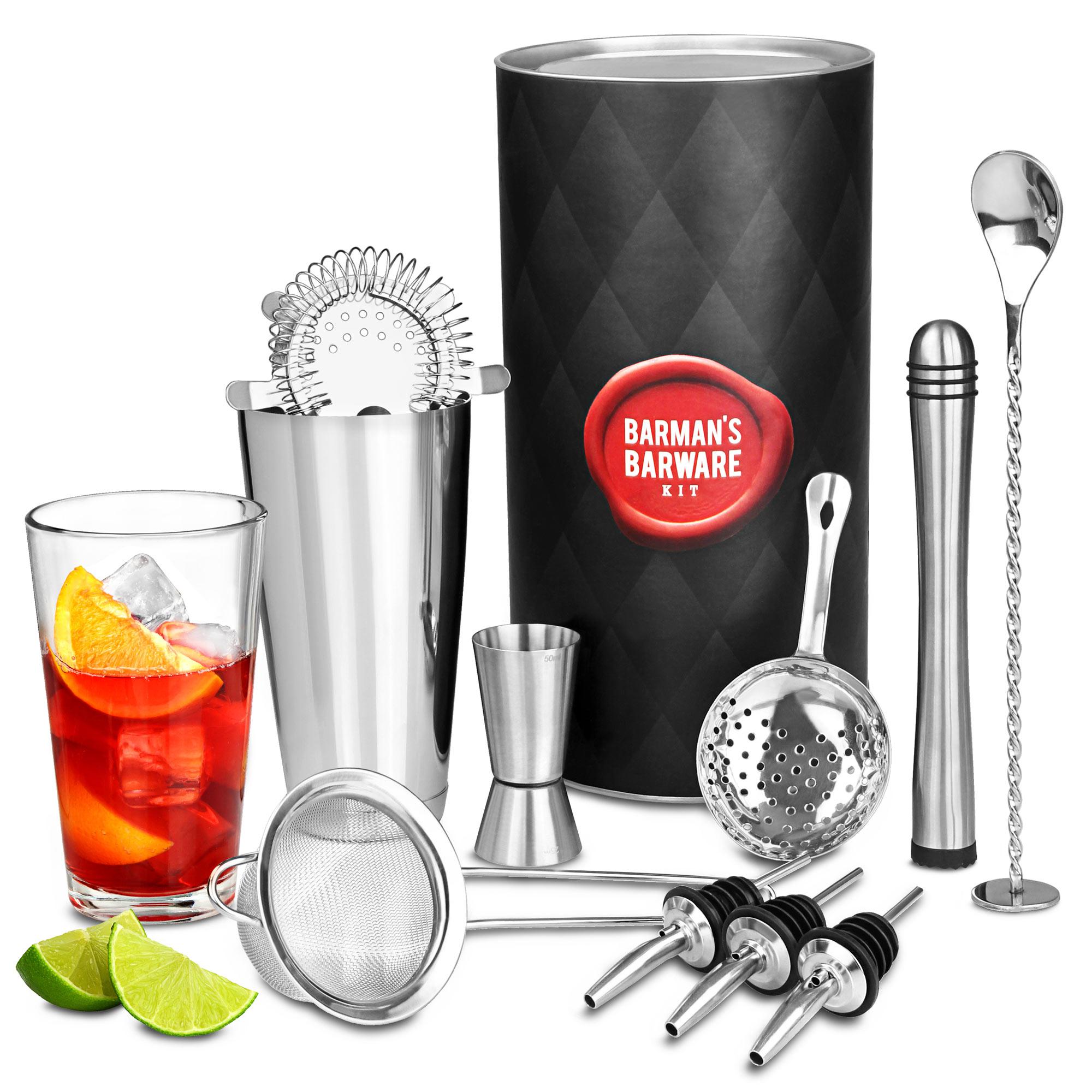 High Quality Barmanu0027s Barware Kit