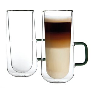 Ravenhead Double Walled Latte Mugs 12oz / 340ml