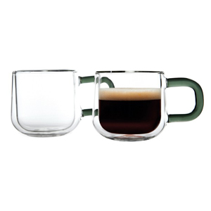 Ravenhead Double Walled Espresso Cups 3oz / 90ml