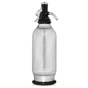 ISI Silver Classic Soda Syphon 1ltr