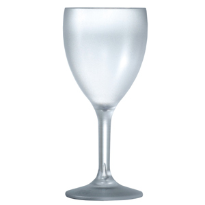 Elite Premium Frosted Wine Glasses 9oz / 255ml