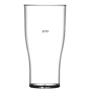 Elite Tulip Nucleated Glasses CE At 20oz, LCE 1/2 Pint
