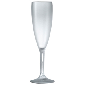 Elite Premium Frosted Champagne Flutes 7oz / 200ml