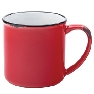 Utopia Avebury Red Mug 10oz / 280ml