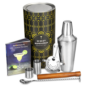 Luxury Manhattan Cocktail Shaker Set