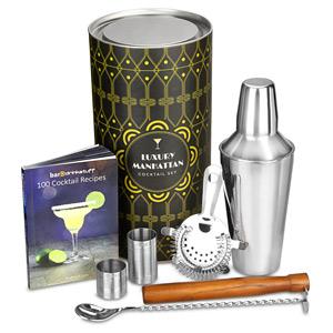 Luxury Manhattan Cocktail Shaker Set