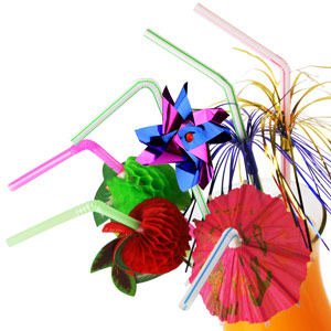 Drinking Straws Cocktail Set