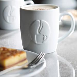 Utopia Java Embossed Mugs 15.5oz / 440ml